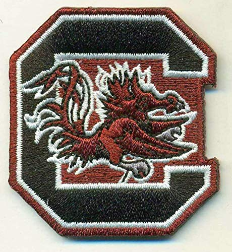 SOUTH CAROLINA GAMECOCKS IRON ON EMBROIDERED EMBROIDERY PATCH PATCHES SCHOOL OF UNIVERSITY STATE COLLEGE NCAA FOOTBALL SPORTS
