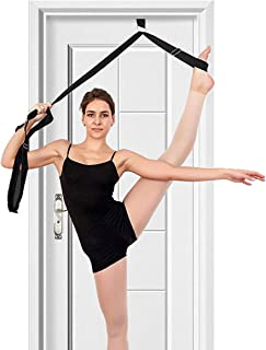 tchrules Leg Stretcher, Door Flexibility & Stretching Leg Strap - Great for Ballet Cheer Dance Gymnastics or Any Sport Leg...