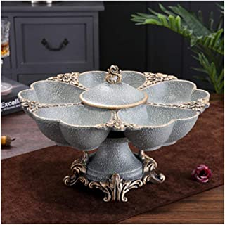 Nwn European Fruit Plate Fruit Plate Decoration Living Room Creative Household Coffee Table Decoration Furnishings Fashion Fruit Bowl Fruit Bucket (Color : C)