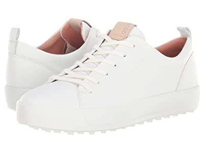 ECCO Golf Soft Low Hydromax(r) (Bright White) Women
