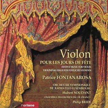 Violon pour les jours de fête (Festive Music for Violin)