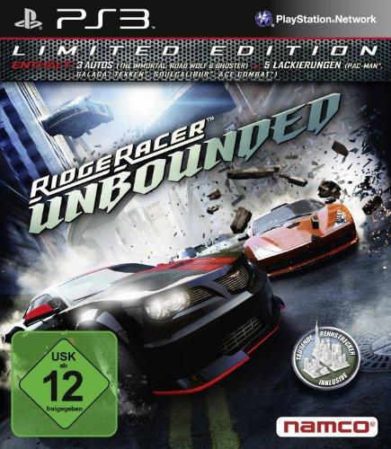 Preisvergleich Produktbild Ridge Racer Unbounded - Limited Edition - [PlayStation 3]