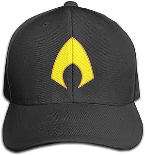 agmpoユニセックスAquamanロゴPeaked野球キャップ帽子