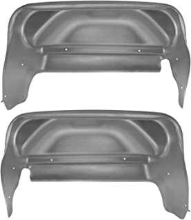 Husky Liners Fits 2014-18 GMC Sierra 1500, 2019 GMC Sierra 1500 Limited, 2015-19 GMC Sierra 2500/3500 - SINGLE REAR WHEELS Rear Wheel Well Guards