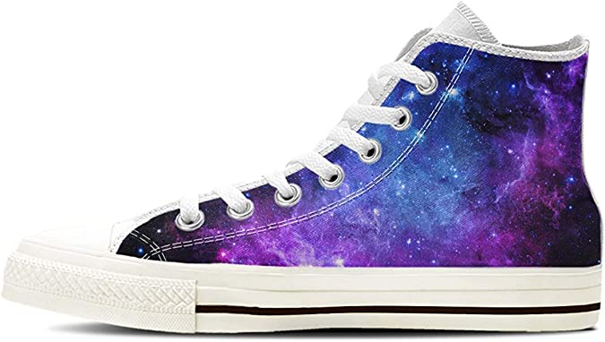 Gnarly Tees Women's Galaxy Shoes High