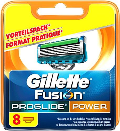 Auslaufmodell Gillette Fusion ProGlide Power Rasierklingen, 8 Stück, standard Verpackung