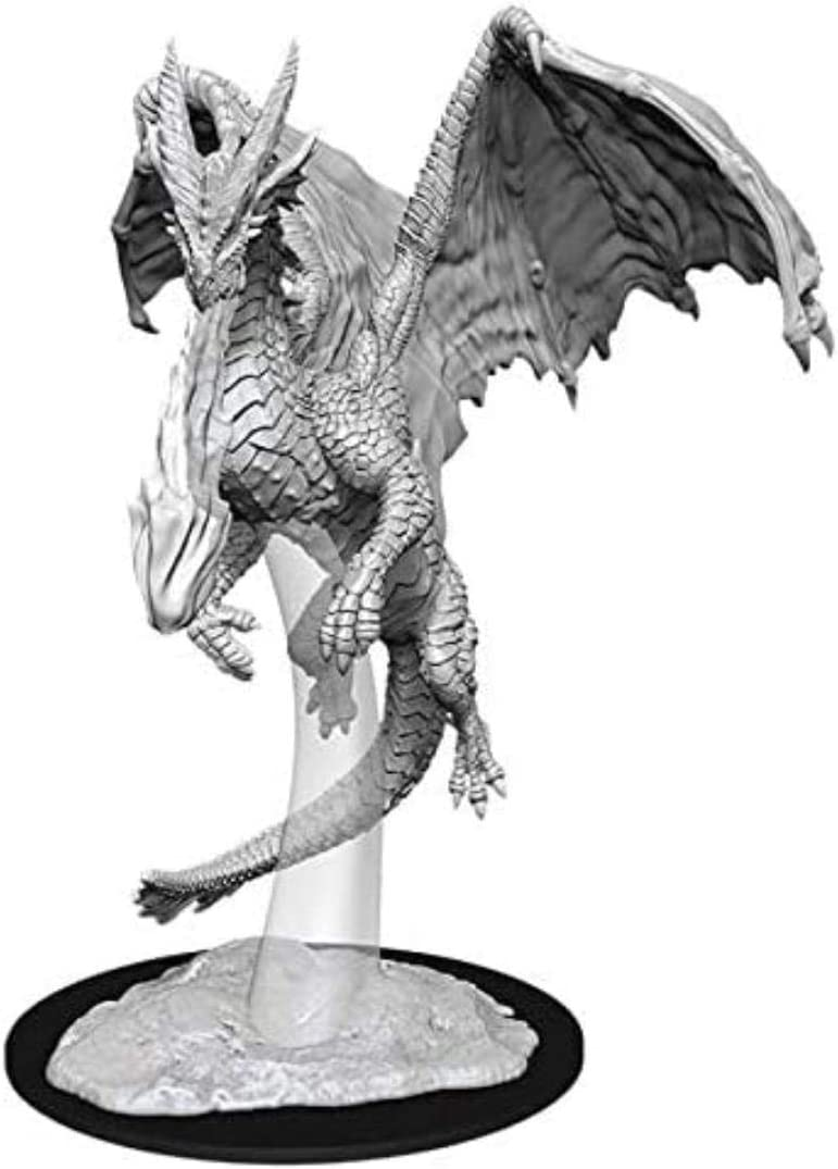 D&D Nolzurs Marvelous Upainted Miniatures: Wave 11: Young Red Dragon