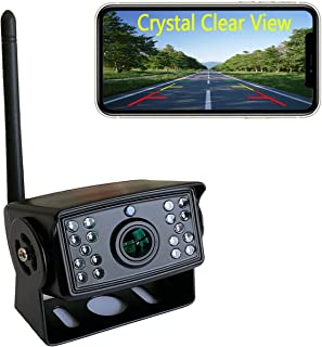 $79 » Casoda FHD 1080P WiFi Backup Camera for iPhone and Android, Crystal Clear View Ultra Strong Signal Smooth Video Infrared N...