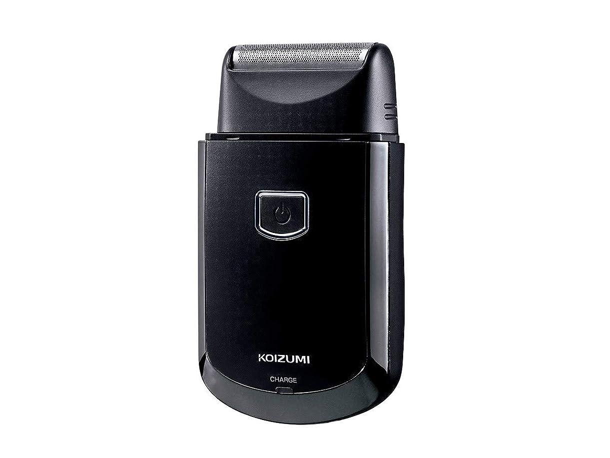 放射性アシュリータファーマン共感するコイズミ メンズシェーバー USB充電式 往復式 ブラック KMC-0700/K