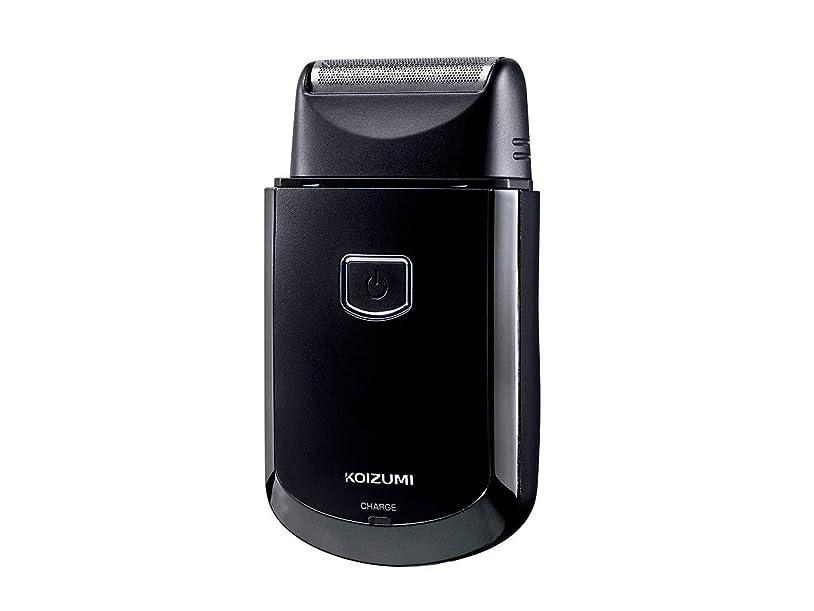ごみ死傷者性差別コイズミ メンズシェーバー USB充電式 往復式 ブラック KMC-0700/K