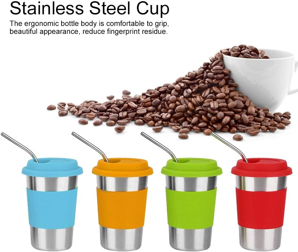 4 Colors Water Online price limited product Cup Steel Tea Stainless Made