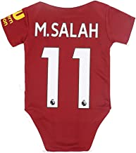 AJBOY Football Club Home Soccer Baby Onesie Bodysuits Infant Jumpsuit Romper Outfit for 0-18 Months