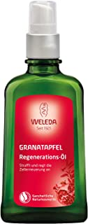 WELEDA Granatapfel Regenerations-Öl, intensives Naturkosmetik Pflegeöl mit pflanzlichen Ölen für anspruchsvolle Haut, Körperöl zur Förderung der Zellerneuerung und Elastizität 1 x 100 ml
