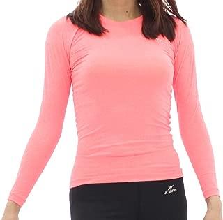 XPRIN A100 Series Women's Long Sleeve Cool Base Layer Compression Shirt Sports Wear