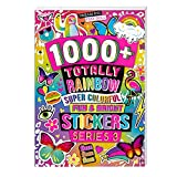 Fashion Angels 1000+ Totally Rainbow Colorful Stickers for Kids - Fun Craft Stickers for Scrapbooks, Planners, Gifts and Rewards, 40-Page Sticker Book for Kids Ages 6+ and Up