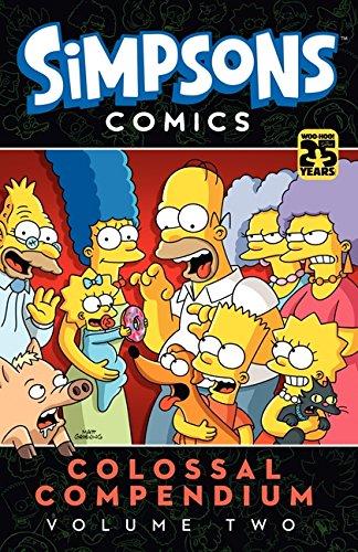 Simpsons Comics Colossal Compendium 2