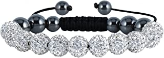 bracelets with balls and diamonds