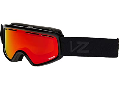 VonZipper Trike (Black Gloss/Wildlife Fire Chrome) Goggles