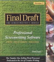 Final Draft Professional Screenwriting Software, Version 5.0