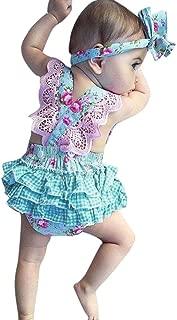 Cappelli Completo di Vestiti Set Culater Toddler Kids Neonate ❤️❤️ Felpa con Cappuccio per Bambina Pagliaccetto Tortoise Maglietta a Righe Pagliaccetto Tuta