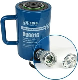 TEMCo HC0016 - Hydraulic Cylinder Ram Single Acting 50 TON 4