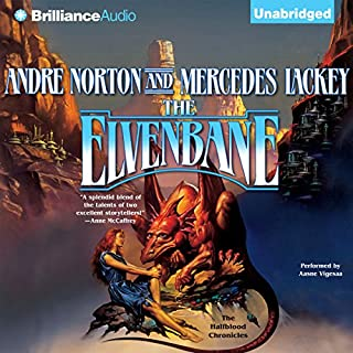 The Elvenbane audiobook cover art