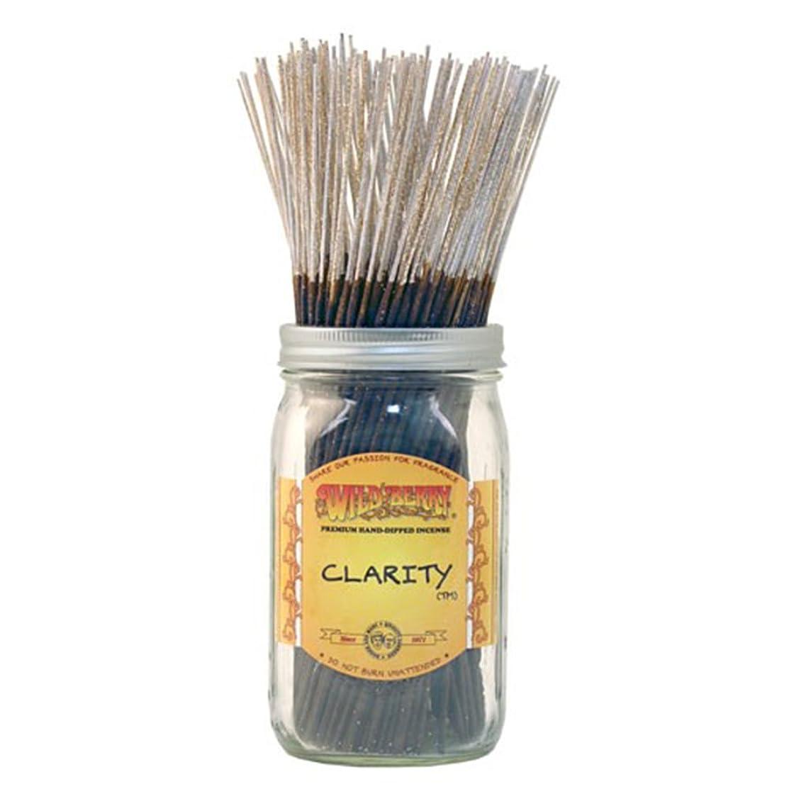 平行才能体系的にWild Berryクラリティ、Highly Fragranced Incense Sticksバルクパック、100ピース、11インチ