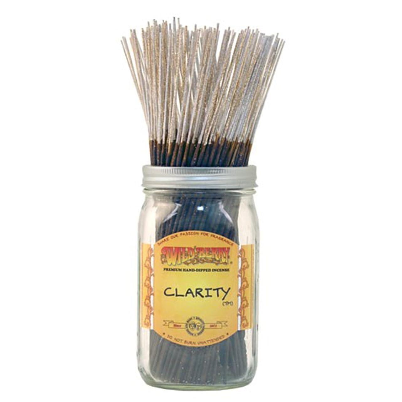 有力者家庭教師始まりWild Berryクラリティ、Highly Fragranced Incense Sticksバルクパック、100ピース、11インチ