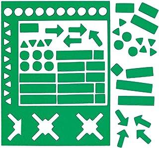 Legamaster Magnetic Symbols Green, Ref: 7-448104