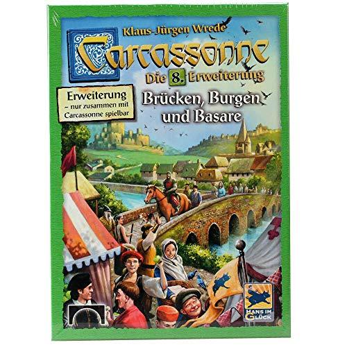 Hans im Glück HIGD0107 Carcassonne-Brücken, Burgen und Basare