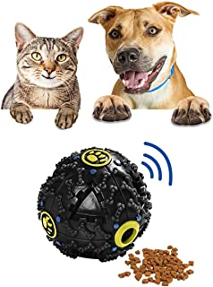 MESINURS Interactive Dog Toy IQ Treat Ball - Pet Food Dispensing Slow Feeder for Dog & Cat, Keeps Pet Entertained, Playing...