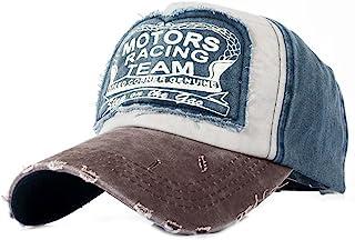 Yusongirl Vintage Washed Denim Baseball Cap Classic Cotton Dad Hat Adjustable Plain