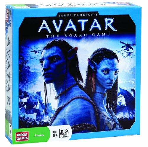 Mega Brands 51982 - Avatar Strategiespiel, 130 - Teile, 2 - 4 Spieler, ab 8 Jahren