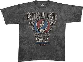 Blue Mountain Dyes LLC Licensed Grateful Dead American Music Hall Tie Dye T Shirt