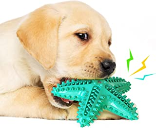 TAME Dog Toys for Aggressive Chewers Durable Interactive Puppy Toys for Small Medium Large Dog Teething Cleaning Toothbrus...