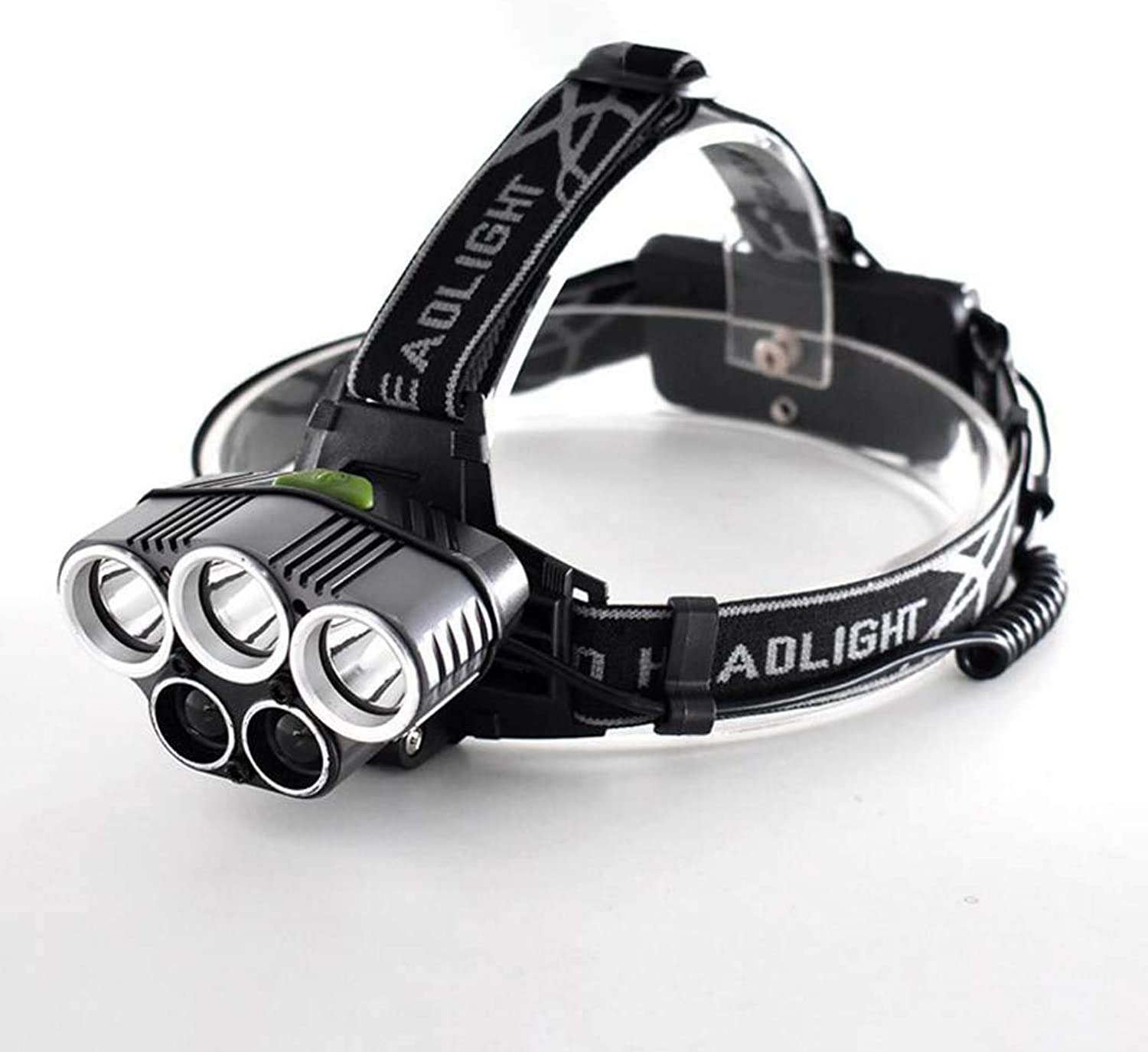 LED Headlamp,USB Rechargeable HeadMounted Super Bright LED Torch, Waterproof Headlight for Camping, Hiking, Jogging, Running Fishing, Kids