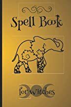 Spell Book for Witches: Wicca book of shadows blank; Beginners wicca journal