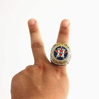 shanyang Kpop Astros replec Ring MLB Championship 2017 World Series Size 11
