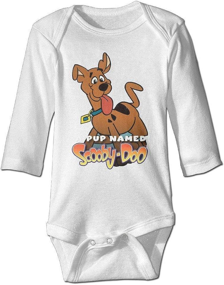 WlQshop A Pup Body /à manches longues pour b/éb/é Motif Scooby-Doo
