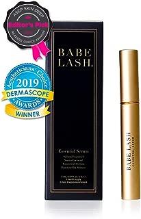 Babe Lash Eyelash & Brow Enhancer Serum for Natural, Fuller & Longer Looking Eyelashes - Eyelash Booster Hydrates Lashes - Used on Lash, Brow & Lash Extensions - 2 ML