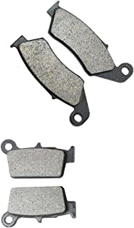 CNBK Semi-Metallic Disc Brake Pads Set fit for GAS GAS Dirt Bike EC300 EC 300 cc 300cc F 4T 13 14 15 2013 2014 2015 4 Pads