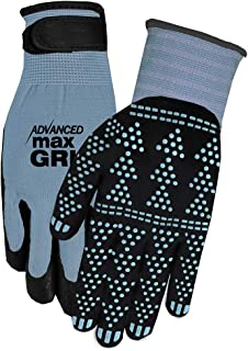 Midwest Gloves & Gear 95SL-SM Advanced Max Gripping Glove, Slate Blue