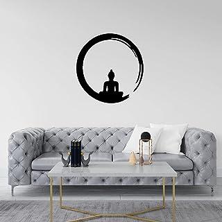 WALLCENTRE ART BEYOND IMAGINATION Mild Steel Budha Metal Wall Hanging Art Home Decor for Living Room, Bedroom, Kids Room (...