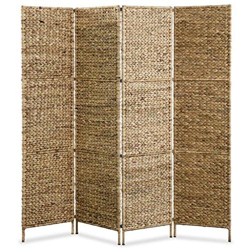 mewmewcat Biombo Separador de Ambientes 4 Paneles 160x160 cm