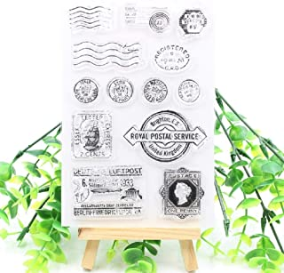 Postage Transparent Clear Silicone Stamp Seal for DIY Scrapbooking Photo Album Decorative Card Making Decoration Clear Stamp