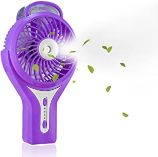 TianNorth Misting Fan Mini USB Handheld Humidifier Mist Water Spray Air Condictioning Moisturizing Fan Portable Face Spray Mist Humidifier