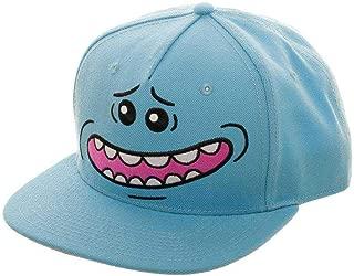 Rick and Morty Mr. Meeseeks Big Face Snapback,Blue,Standard