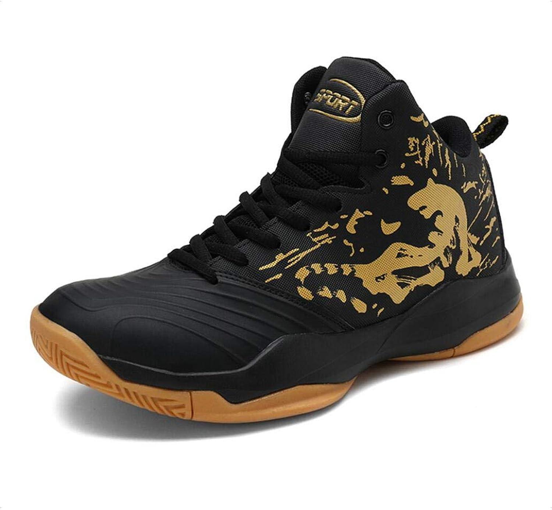 Manliga skor, högklassiga skor, skor, skor, vårhöst, konstgjort PU Basketballskor Slip Resistent, Comfort springaning skor, Lace -up skor  det senaste