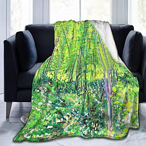 DWgatan Manta,Underwood Light Throwing Blanket Manta de Microfibra súper Suave Manta Suave y Elegante Manta cálida para Padres Adultos Niños en el sofá Cama Adecuado-80 x60