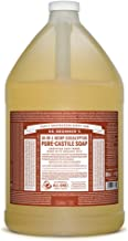 Dr. Bronner's - Pure-Castile Liquid Soap (Eucalyptus, 1 Gallon) - Made with Organic Oils, 18-in-1 Uses: Face, Body, Hair, ...